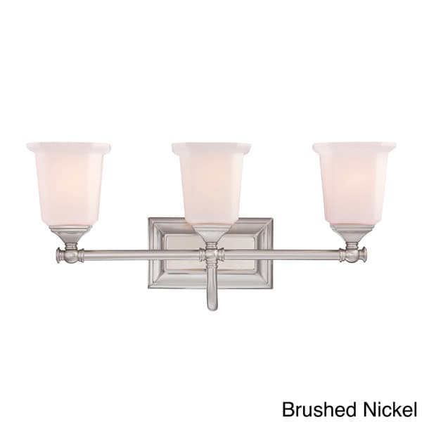 7 light bathroom fixture quoize nichola three light bath fixture free shipping 15336