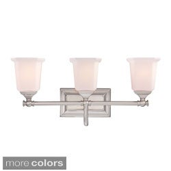 Quoize 'Nichola' Three-light Bath Fixture