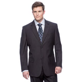 Men's Blue Modern Fit 2-button Flat Front Suit|https://ak1.ostkcdn.com/images/products/8398976/P15700232.jpg?impolicy=medium