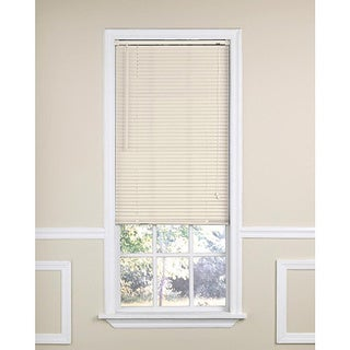 Ivory Vinyl Mini Window Blind