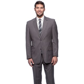 Men's Blue/ Grey Modern Fit 2-button Suit (More options available)