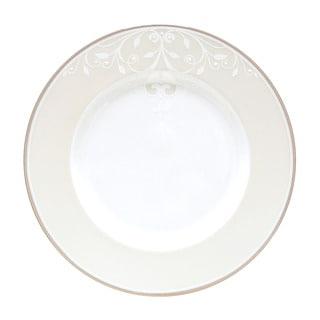 Lenox Opal Innocence Scroll 9-inch Accent Plate