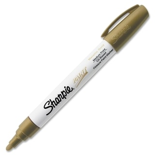 Permanent Paint Marker Medium Point Gold