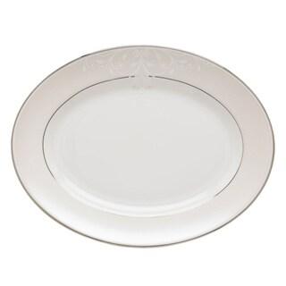 Lenox Opal Innocence Scroll 13-inch Oval Platter