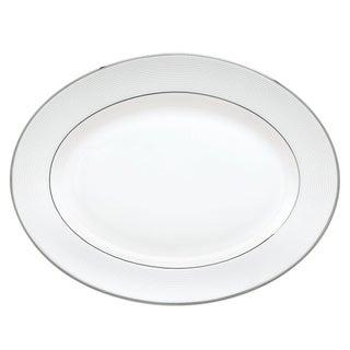 Lenox Opal Innocence Stripe 13-inch Oval Platter