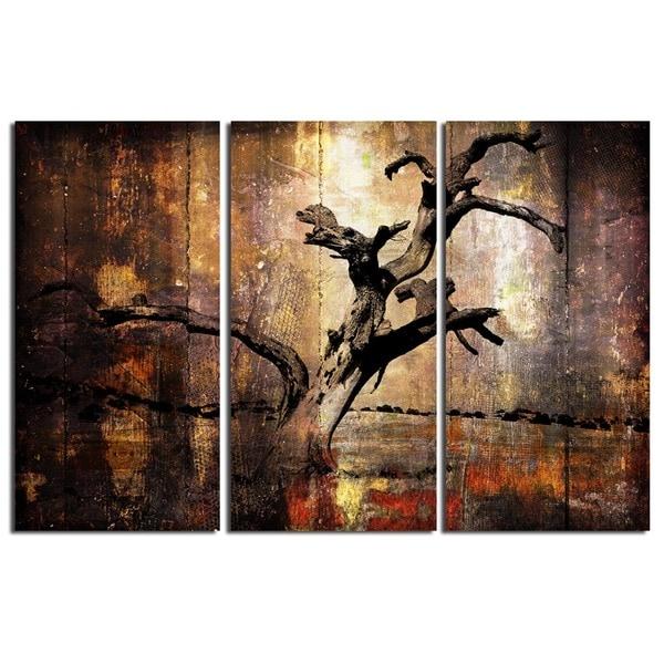 Ready2HangArt 'Abstract' Canvas Art (Set of 3)