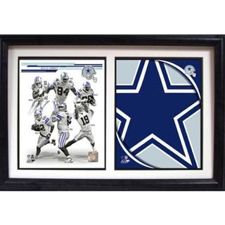 2013 Dallas Cowboys 12 x 18 Custom Double Frame