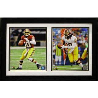 Washington Redskins Robert Griffin III 12 x 18 Custom Framed Double Print