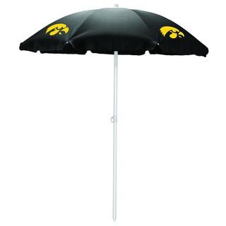 University of Iowa Hawkeyes Black Umbrella