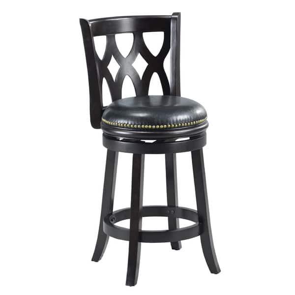 Prime Shop Valencia Black Triple Crossback 24 Inch Counter Stool Spiritservingveterans Wood Chair Design Ideas Spiritservingveteransorg