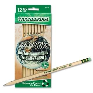 Ticonderoga EnviroStiks Pencil HB #2 Dozen