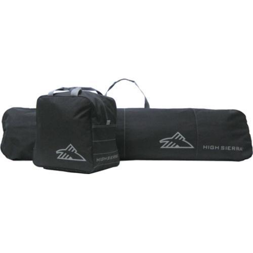 High Sierra Snowboard Sleeve and Boot Bag Combo S4052 Black