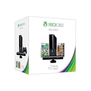 Xbox 360 4GB Holiday Bundle with Kinect Sports: Season Two and Kinect Adventures