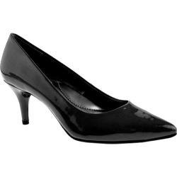 Bandolino Women's Inspire Black Leather Heels
