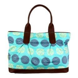 Women's Amy Butler Abina Tote Pressed Flowers Sky