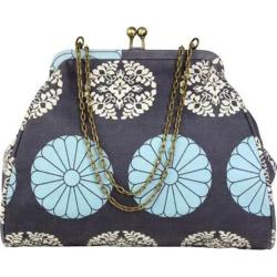 Women's Amy Butler Nora Clutch With Chain Pressed Flowers Sky