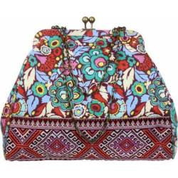 Women's Amy Butler Nora Clutch With Chain 2 Trapeze Field