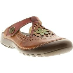 Women's Spring Step Sylph Camel Leather