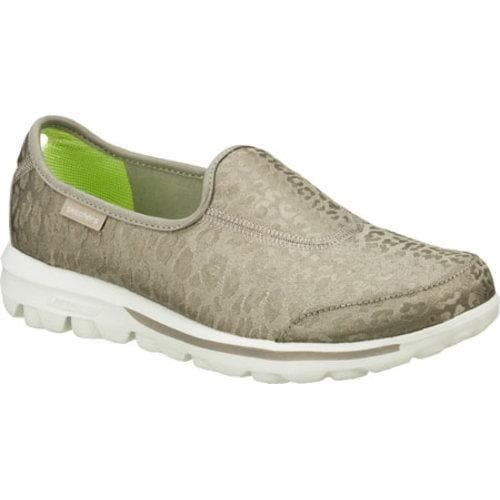 571aaf48c5b7 Shop Women's Skechers GOwalk Safari Silver - Free Shipping Today - Overstock  - 9065168