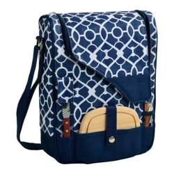 Picnic at Ascot Pinot Wine and Cheese Cooler Trellis Blue