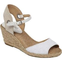 Women's Lucky Brand Kyndra White/Natural Fabric
