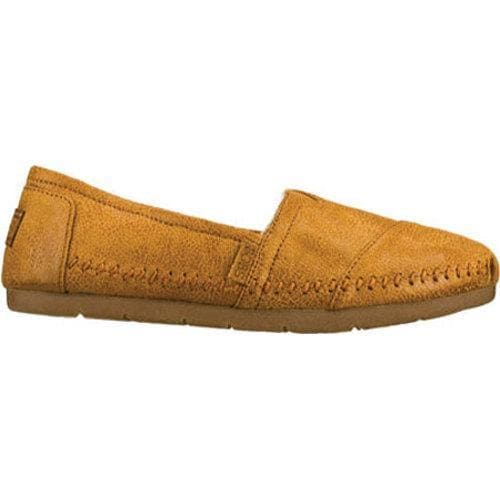 Women S Skechers Luxe Bobs Rain Dance Brown Free