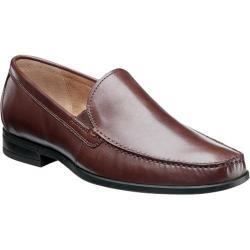 Men's Nunn Bush Glenwood Slip Brown Leather