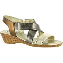 Women's Bella Vita Ciao Multi Metallic Leather