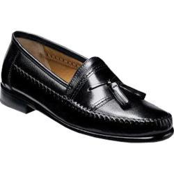 Men's Brass Boot Alfredo Black Deerskin/Leather