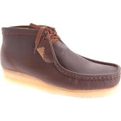 Men's Clarks Wallabee Boot Beeswax Leather