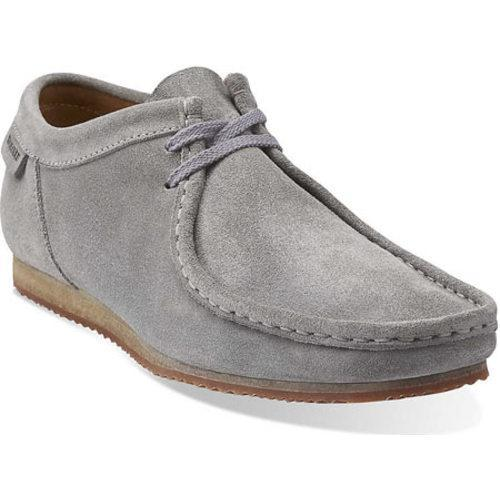 Men S Clarks Wallabee Run Grey Suede Free Shipping Today
