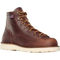 Men's Danner Bull Run 6in Cristy Brown Full Grain Leather