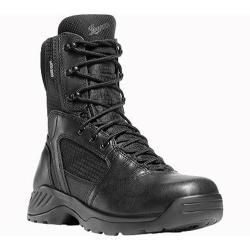 Men's Danner Kinetic Side-Zip GTX 8in Black Leather
