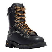 Men's Danner Quarry USA 8in Black Full Grain Leather