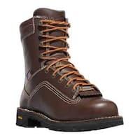 Men's Danner Quarry USA 8in Brown Full Grain Leather