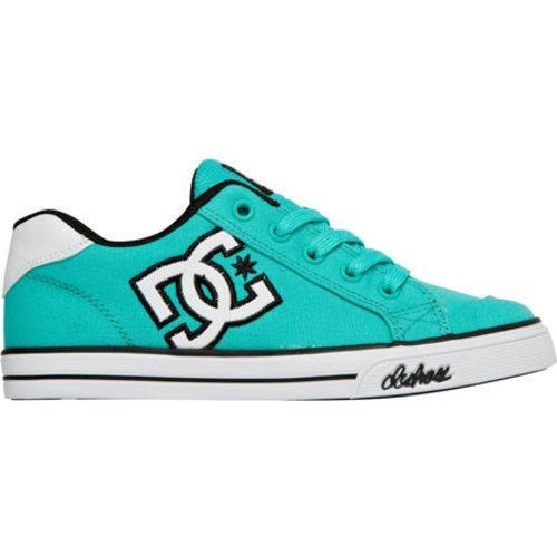 dc shoes chelsea canvas teal free shipping on