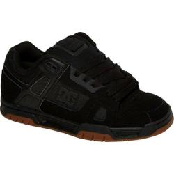 Men's DC Shoes Stag Black/Gum