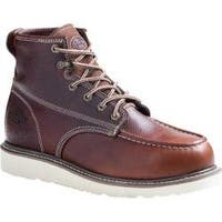 Men's Dickies Trader Burgundy Full Grain Leather
