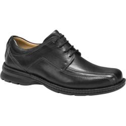 Men's Dockers Trustee Black Tumbled Full Grain Leather
