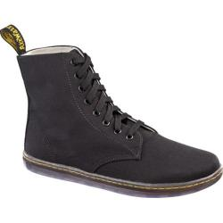 Men's Dr. Martens Alfie 8 Eye Boot Black Canvas