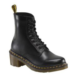 Women's Dr. Martens Clemency 8-Eye Boot Black Smooth