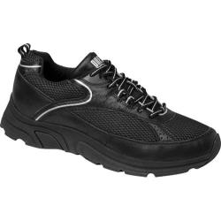 Men's Drew Aaron Black/Silver Leather/Mesh Combo