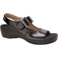 Women's Drew Avalon Black Crinkle Patent Leather