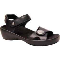 Women's Drew Andi Black Smooth Leather