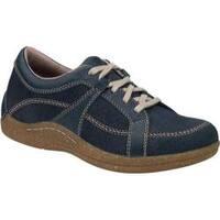 Women's Drew Geneva Blue Denim Leather/Nubuck
