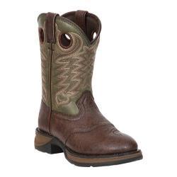 Children's Durango Boot BT306 Lil' Durango Dark Brown/Forest Green