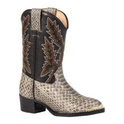 Boys' Durango Boot BT813/913 Natural Backcut Snake Print|https://ak1.ostkcdn.com/images/products/84/873/P16422444.jpg?impolicy=medium