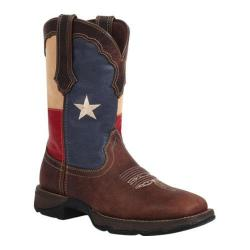 Women's Durango Boot RD3446 10in Lady Rebel Western Texas Flag