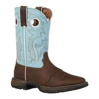 Women's Durango Boot RD3471 10in Flirt Brown/Light Blue