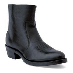Durango Men's Boot TR820 7 Black Leather Side Zip